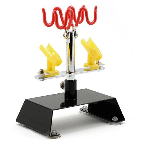 Master Airbrush Brand Table Top Airbrush Holder Station Stand Holds 4 Airbrushes Swivel Tilt Set by Master Airbrush Master-station