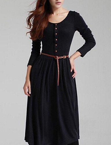 DJB/ Leder Umhängetaschen Damen Leder Taschen Freizeit Taschen einfachere Taschen Black