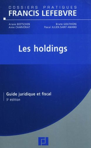 Holdings par Ariane Beetschen