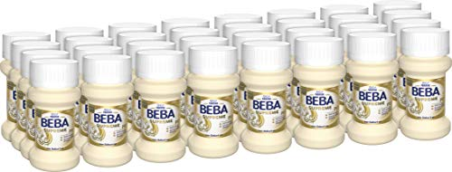 Nestlé BEBA SUPREME PRE Anfangsmilch: trinkfertige Portionsflaschen, mit Omega 3, (32 x 70 ml) -
