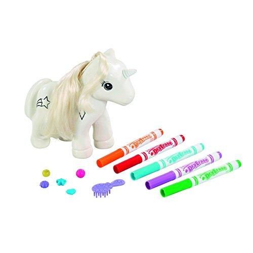 """Crayola 93020 """"Colour n Style"""" Unicorn Craft Kit"""