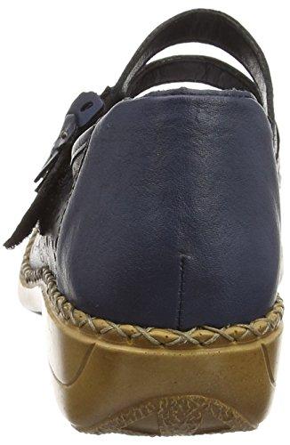 Rieker 41372-14, Mary Jane Femme Bleu (Marine/Royal)