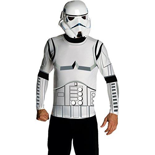 –cs980679/M–Shirt und Maske Stormtrooper–Größe M (Stormtrooper Kostüm Shirt)