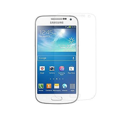 Simplecase Premium Displayschutz Größe: Samsung Galaxy S4 mini aus 9H Panzerglas/ Echtglas/ Verbundglas 1 Stück - Durchsichtig