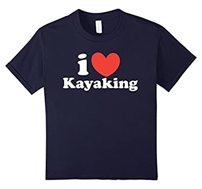 Kayaking Shirt I Love Kayaking Gift Funny Kayak T-Shirt from Bacon Sports Shirts