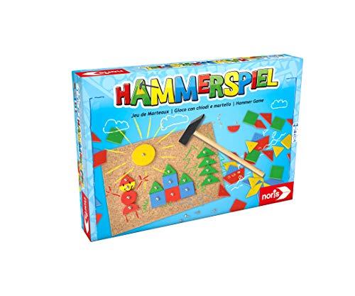 Noris 606049101 Hammerspiel, Kinderspiel