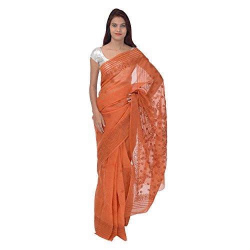Saundarya Sarees Cotton Saree (33Srcpdlkochkndkog_Orange)