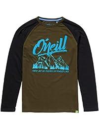 O Neill Niños Manga Larga Oceanside Camiseta - Bosque Noche 02e4d7097f2