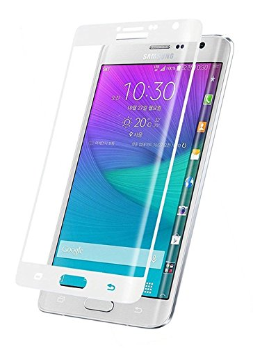 Trocent TSD8524 Displayschutzfolie, Note Edge, weiß - Extended Note Galaxy Edge Akku