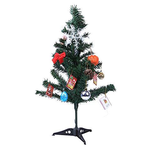 Tischplatte Weihnachtsbaum KüNstliche Schreibtisch Kleine Weihnachten Blumentisch Dekor Festival Party Ornament Voller Home Weihnachtsdeko Dekoration Geschenk Dekorationen(A,Freie Größe)