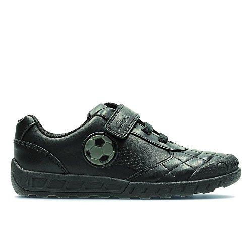Clarks Leader Game Jnr Boy's School Shoes