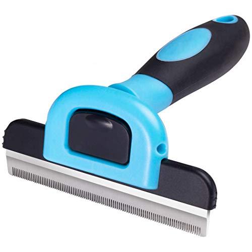 JFJL Pet Grooming Brush reduziert den Haarausfall effektiv um bis zu 95% Professionelles Deshedding Tool für Hunde und Katzen -