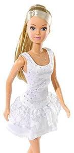 Simba 105730662-Steffi Love muñeca en Blanco, en Verano Vestido, de 3Surtido.