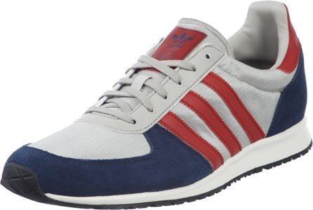 adidas Originals Adistar Racer, Baskets mode homme gris bleu rouge