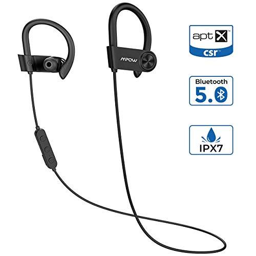 ?Nueva versión? Mpow D9 Auriculares Bluetooth 5.0 Bass +