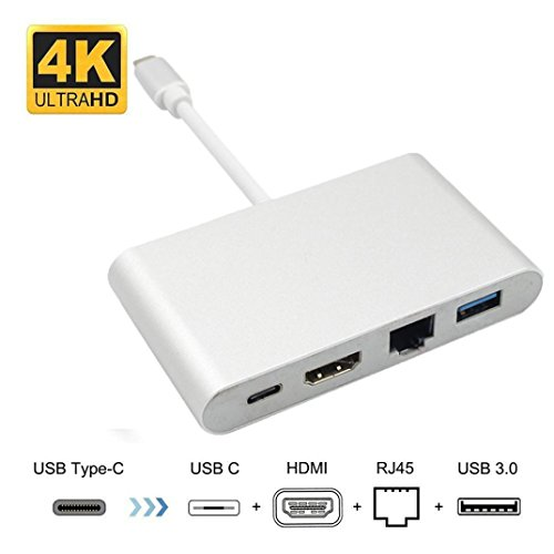 Preisvergleich Produktbild taottao 3 in 1 Mini Display Port DP Thunderbolt zu DVI VGA HDMI Adapter Kabel für MacBook