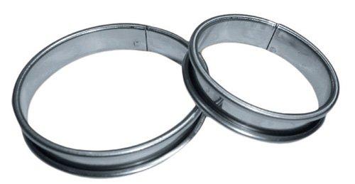 10 cercles à tartelettes 7 cm de diamètre