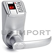 Adel 3398 Biometric Fingerprint Door Lock Touch Keypad Entry Keyless Access control by Adel