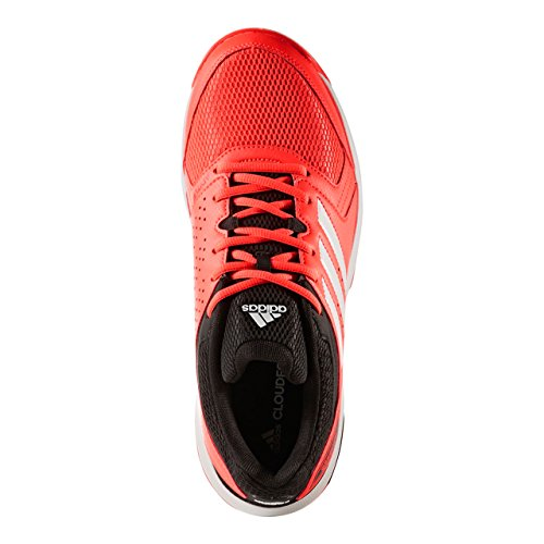 adidas Essence, Scarpe da Pallamano Uomo Rosso (Solar Red/Ftwr White/Core Black)