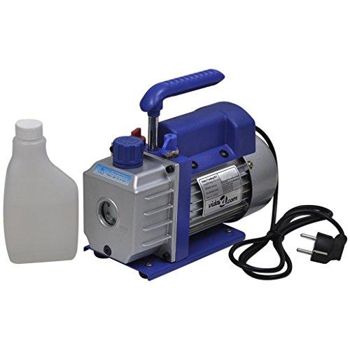 vidaXL Vakuumpumpe 50L/min 1-stufig Unterdruckpumpe Vacuum Pumpe Klimaanlagen - Klimaanlage Vakuumpumpen