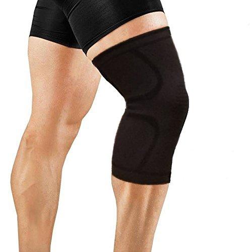 OrthoCare S.Fitness - Rodillera Soporte y compresión para vida diaria y deporte. Perfecta para correr, Crossfit, Halterofilia, Esquí y toda clase de deportes. UNISEX. (M)