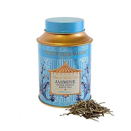 FORTNUM & MASON - Jasmine Silver Needle White Tea (Jasmin-Silber-Nadel-weißer Tee) - 50gr Dose (Lose blatt)
