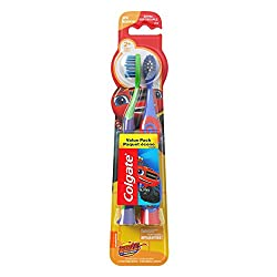 Colgate Kids Toothbrush, Blaze Value Pack, Extra Soft, 2 Count