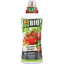 COMPO BIO Tomatendünger, flüssiger Blumendünger für gesunde und schmackhafte Tomaten sowie eine reichahaltige Ernte, 1 l
