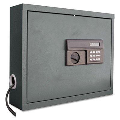 Edsal Sandusky WLAP2016 wall mount laptop security cabinet, powder coat finished, 48.5 cm Height x 52.5 cm Width x 13.5 cm Depth Test