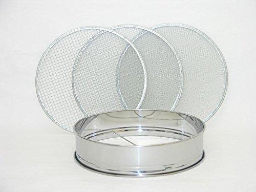 CERTRE Tamis à 3 mailles en acier inoxydable 300 mm