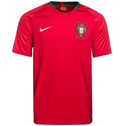 Nike 2018-2019 Portugal Home Football Soccer T-Shirt Trikot