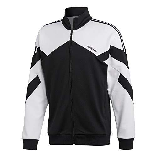 adidas Originals Palmeston Track Top Jacke Herren schwarz/weiß, M (48/50 EU) Le Top Jacke