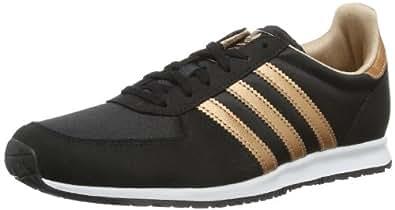 adidas Originals Womens Adistar Racer W-3 Trainers D65483 Black/Rose Gold Metal/Rose Gold Metal 3.5 UK, 36 EU