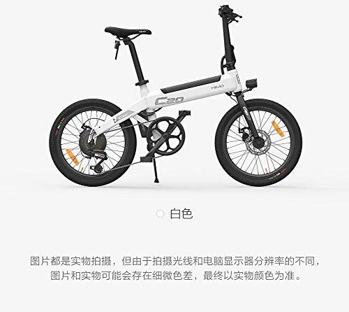 HIMO Bicicleta eléctrica Plegable Bicicleta eléctrica de 20 '' Motor Potente de 250 vatios Modo de conducción conmutable de Tres...