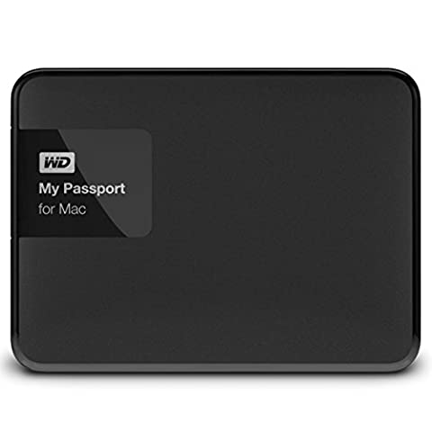 Western Digital 2TB My Passport for Mac tragbare externe Festplatte - USB 3.0 - WDBCGL0020BSL-EESN