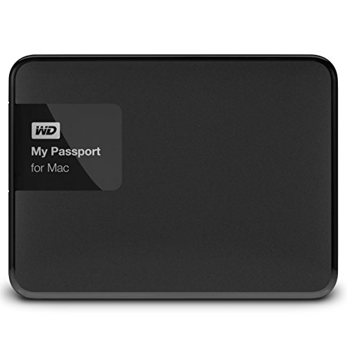 Western Digital 2TB My Passport for Mac tragbare externe Festplatte - USB 3.0 - WDBCGL0020BSL-EESN