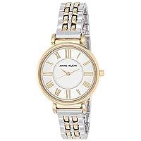 Anne Klein Women's AK/2159SVTT Two-Tone Bracelet Watch