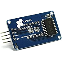 weimay 4Bits LED Pantalla Segmento de Digital Tubo LED Pantalla Módulo con Reloj TM1637para Arduino