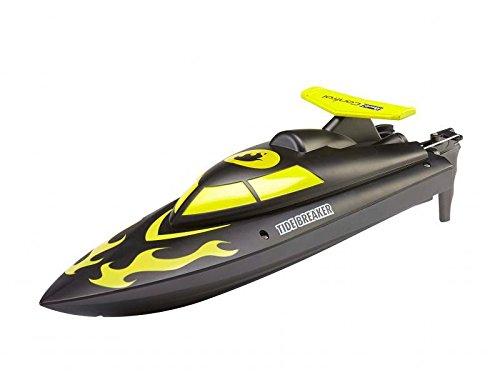 Revell Control 24123 - Funkferngesteuertes Boot, Tide Breaker, 2.4 GHz, schwarz-gelb