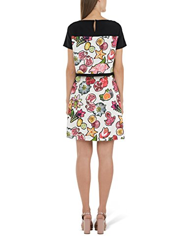 Marc Cain Collections Gc 21.06 W04, Robe Femme Rot (dahlia 263)