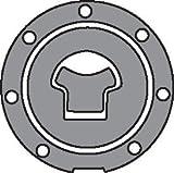 Bike It Aufkleber-Folie für Tankdeckel - Carbon-Look - Kawasaki >99 -7 Schrauben