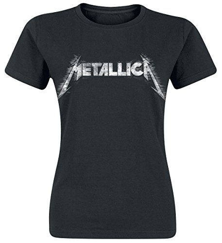 Metallica Spiked Maglia donna nero M