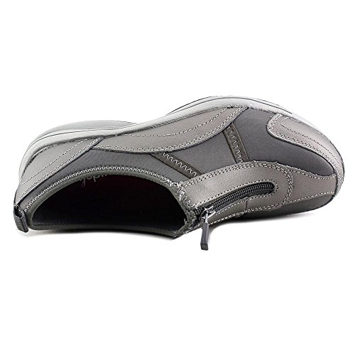 Easy Spirit Walk 4 Zip Large Cuir Chaussure de Marche gray