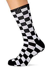 Vans Checkerboard Crew black/white Calcetines