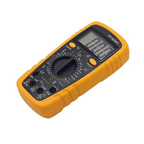 Multímetro Multímetro digital de mano DT9205T Multímetro de protección de rango completo de mesa universal de bajo costo XXYHYQHJD