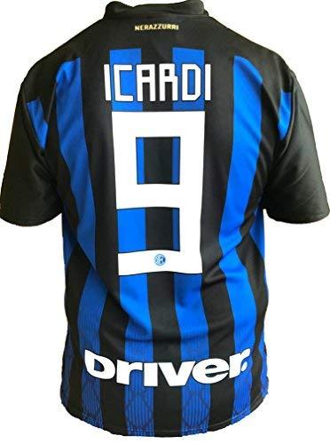 Camiseta Jersey Futbol Inter Mauro Icardi 9 Replica