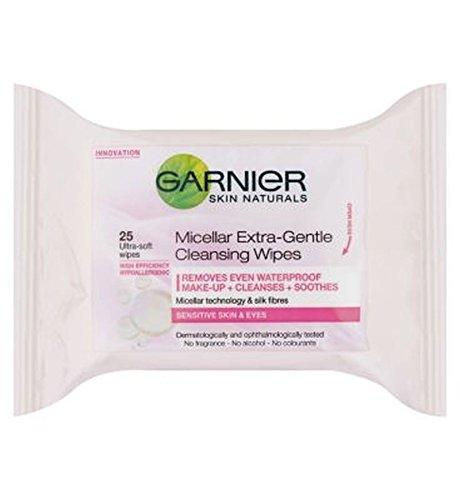 GarnierMicellare Detergente Extra Delicata Salviette 25S (Confezione da 6)