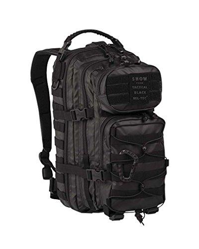 Mil-Tec EE.UU. Mochilla Assault Pack (Small/Tactical Black)