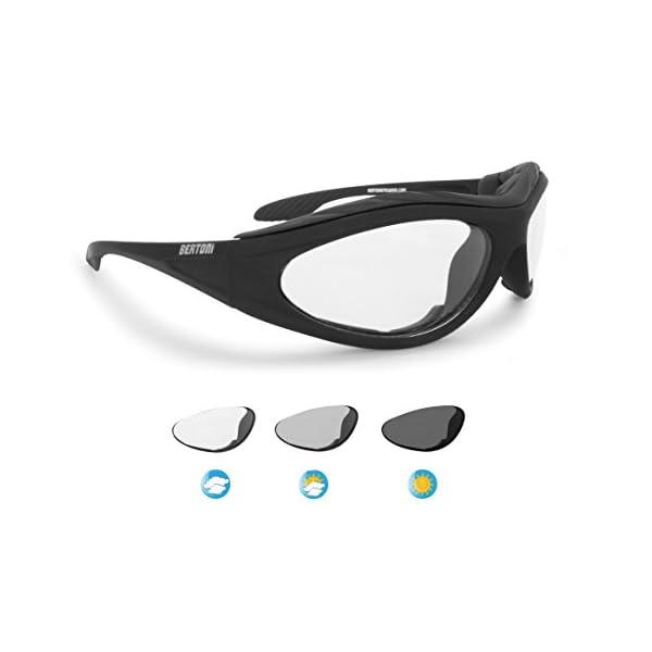 Tree-on-Life Lunettes de Plein air /équitation Moto Lunettes de Sport Ventilateur Anti-Sable /équipement Tactique Lunettes de Ski activit/és de Plein air Noir Gris