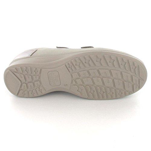 Finn Comfort , Chaussures de ville à lacets pour femme Beige-Kombi.